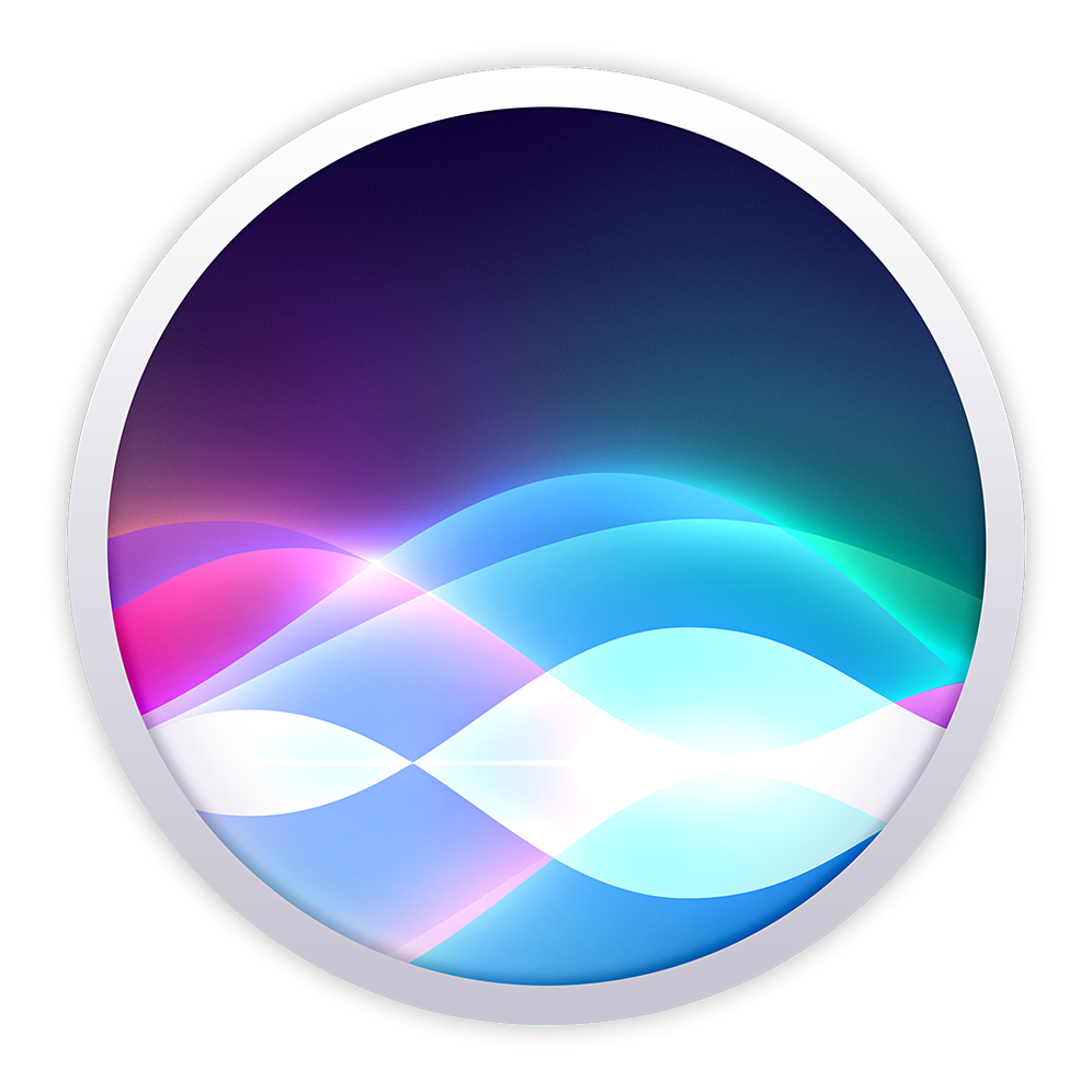 icon showing iOS 10 and macOS icon for Siri