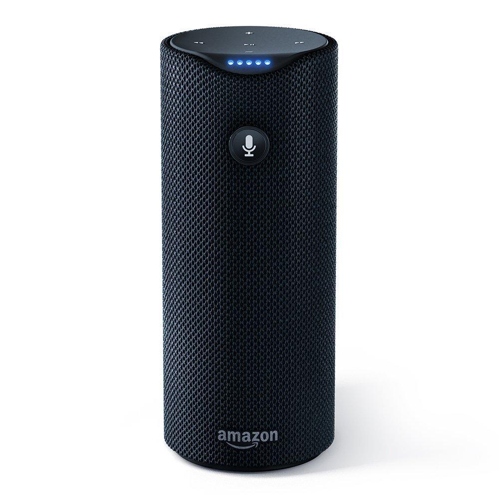 Image of Amazon Tap on white background