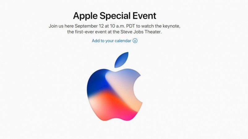 Apple Special Event September 2017
