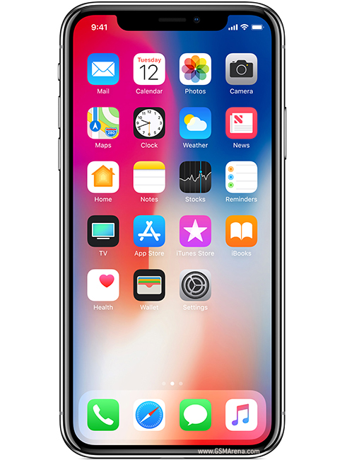 iPhone X Home Screen