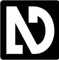 NVDA Logo (Black and White)