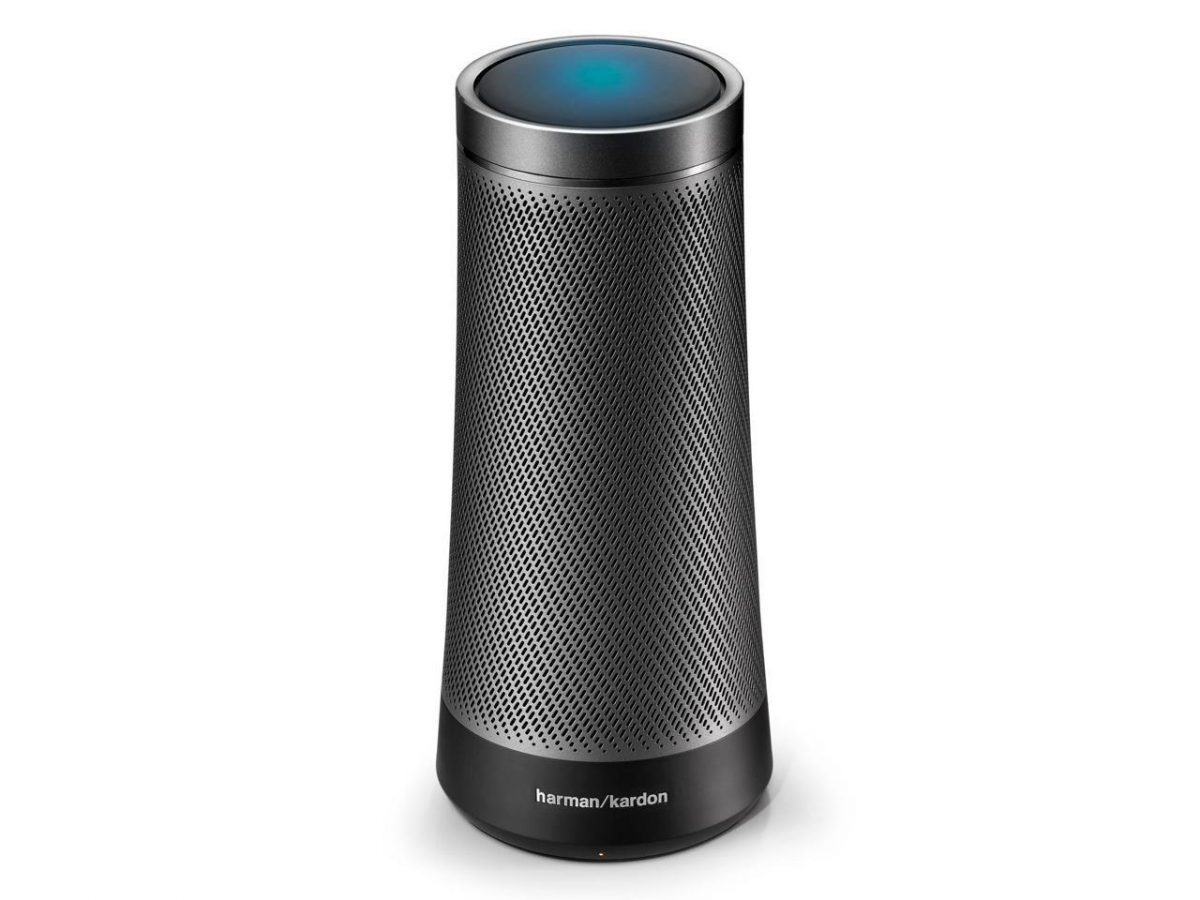 Graphite Harmon Kardon Invoke speaker