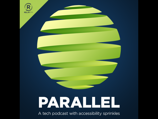 Logo for the Parallel podcast.