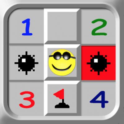 Minesweeper Deluxe logo