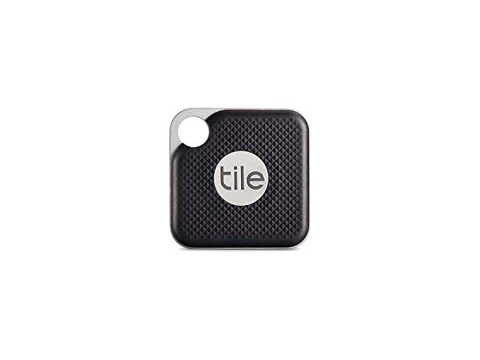 Picture of black tile with white tile logo