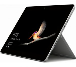 Surface go type cover and surface pen.